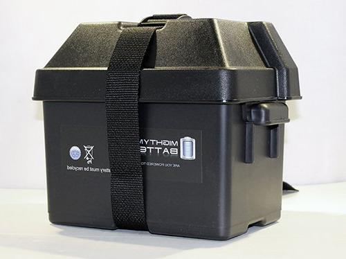 Mighty Battery Duty Battery Box Solar Wind