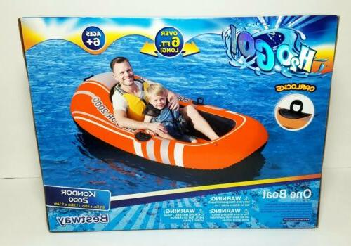 H2o Go Inflatable Boat 5in. X Built In Locks
