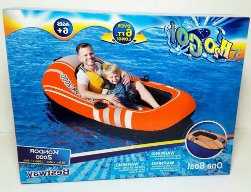 h2o go inflatable boat kondor 2000 6ft