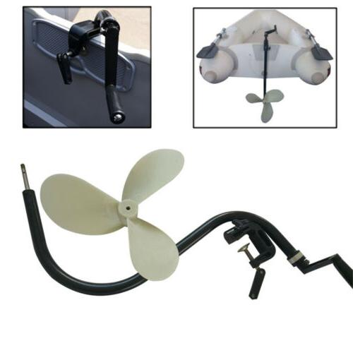 HAND OPERATED PROPELLER DINGHY OUTBOARD MOTOR NEW TROLLING