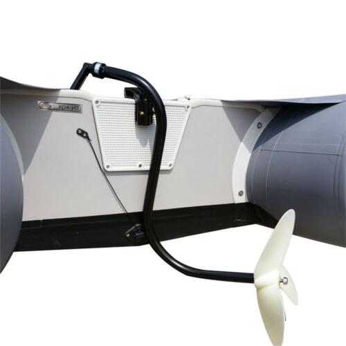 HAND OPERATED INFLATABLE DINGHY OUTBOARD TROLLING