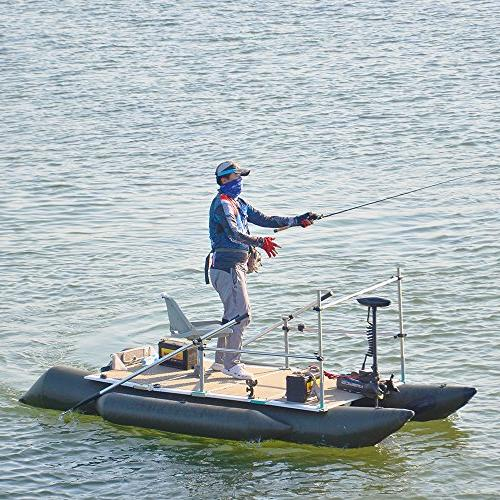 """Aquos Haswing 80LBS 60"""" Shaft Mount Electric Motor Portable, Speed Bass Freshwater and Saving, Precise Control, Quiet Operation"""