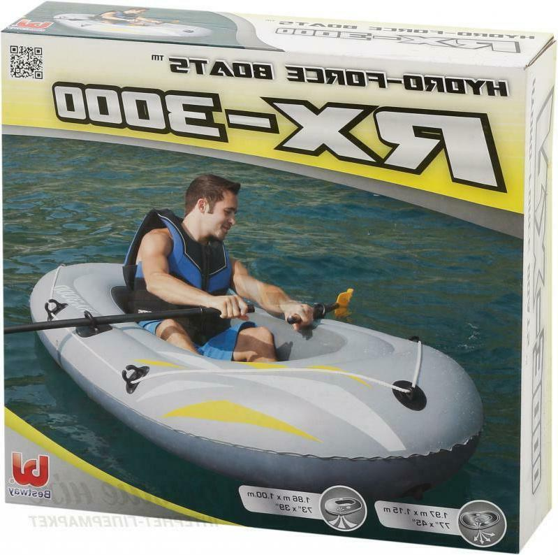 Bestway Inflatable Raft RX-3000 Person Sports Lake Toy