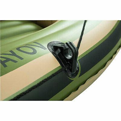 Bestway Hydro Force Voyager 300 Inflatable With Aluminum Raft