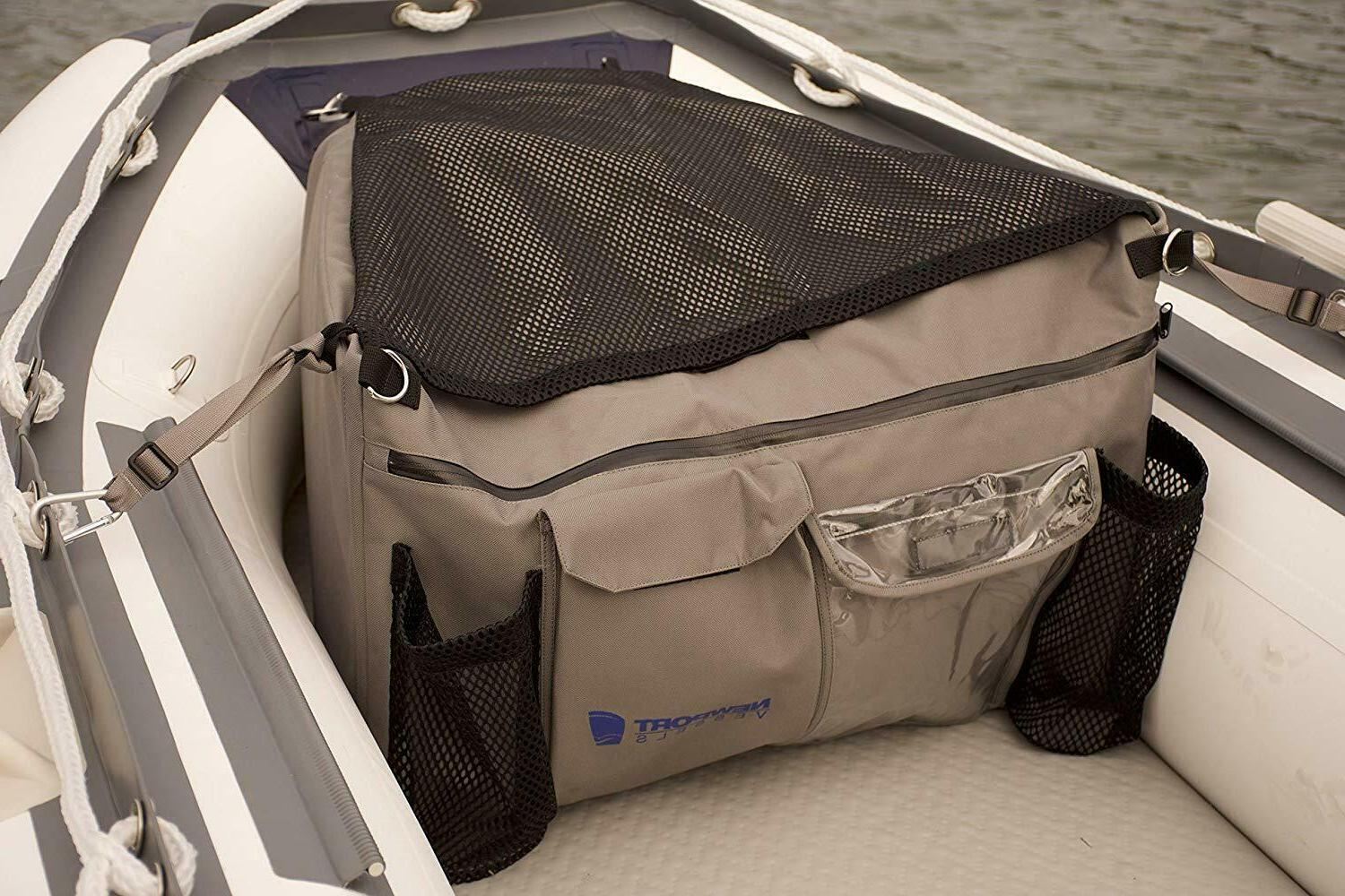 inflatable boat bow storage polyester bag waterproof