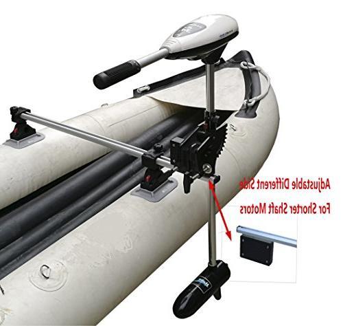 inflatable kayak electric motor mount