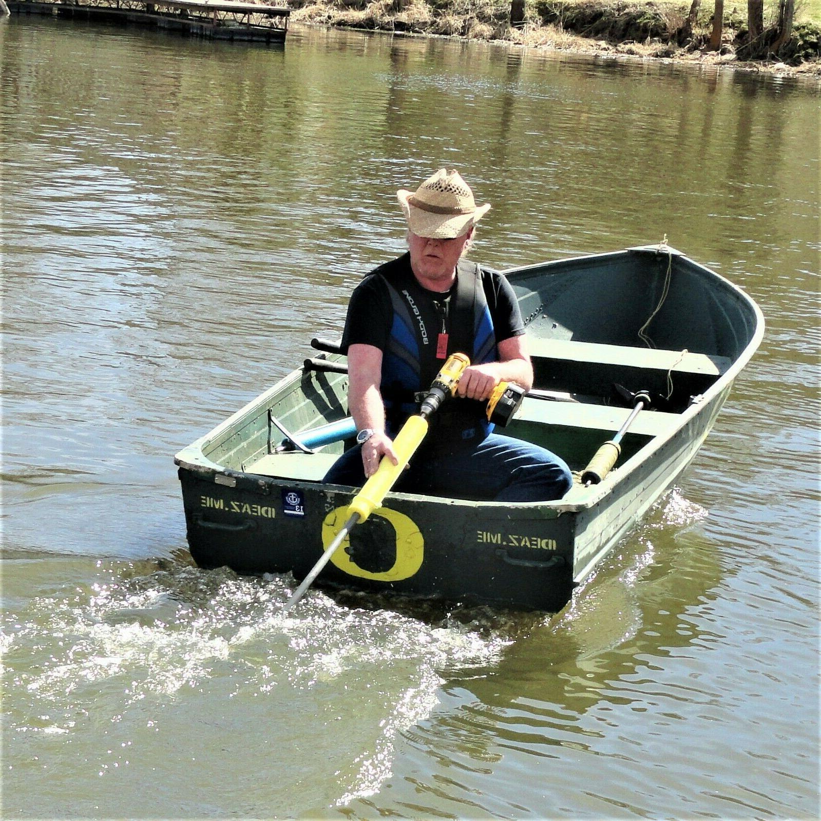 Kayak Canoe Drill Motor Outdoor Water