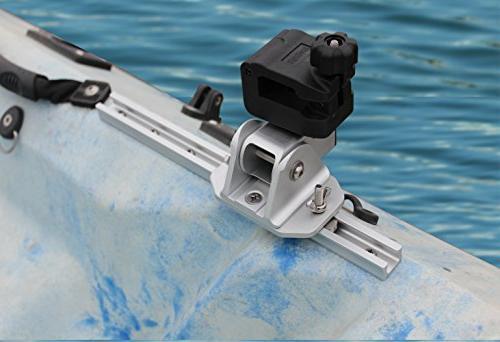 Brocraft Kayak Trolling Two Rocket Launcher rod holder
