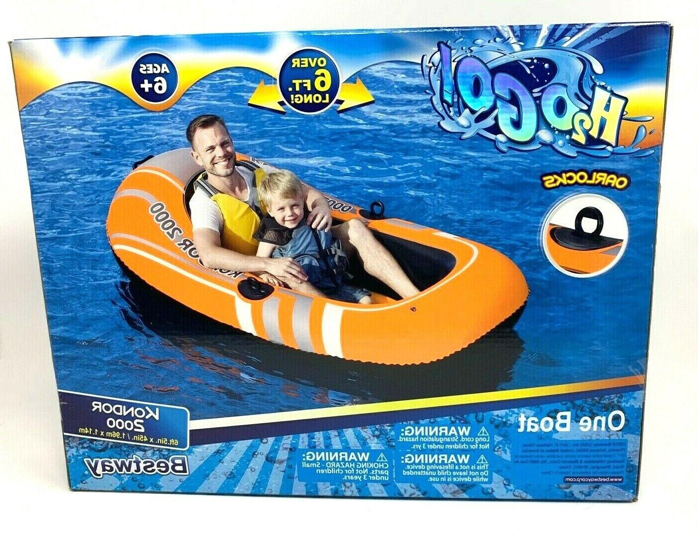 kondor 2000 two person river boat inflatable