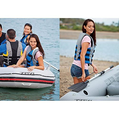 Intex Inflatable Boat Aluminum and High Output