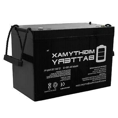 mighty max 12v 100ah battery for minn