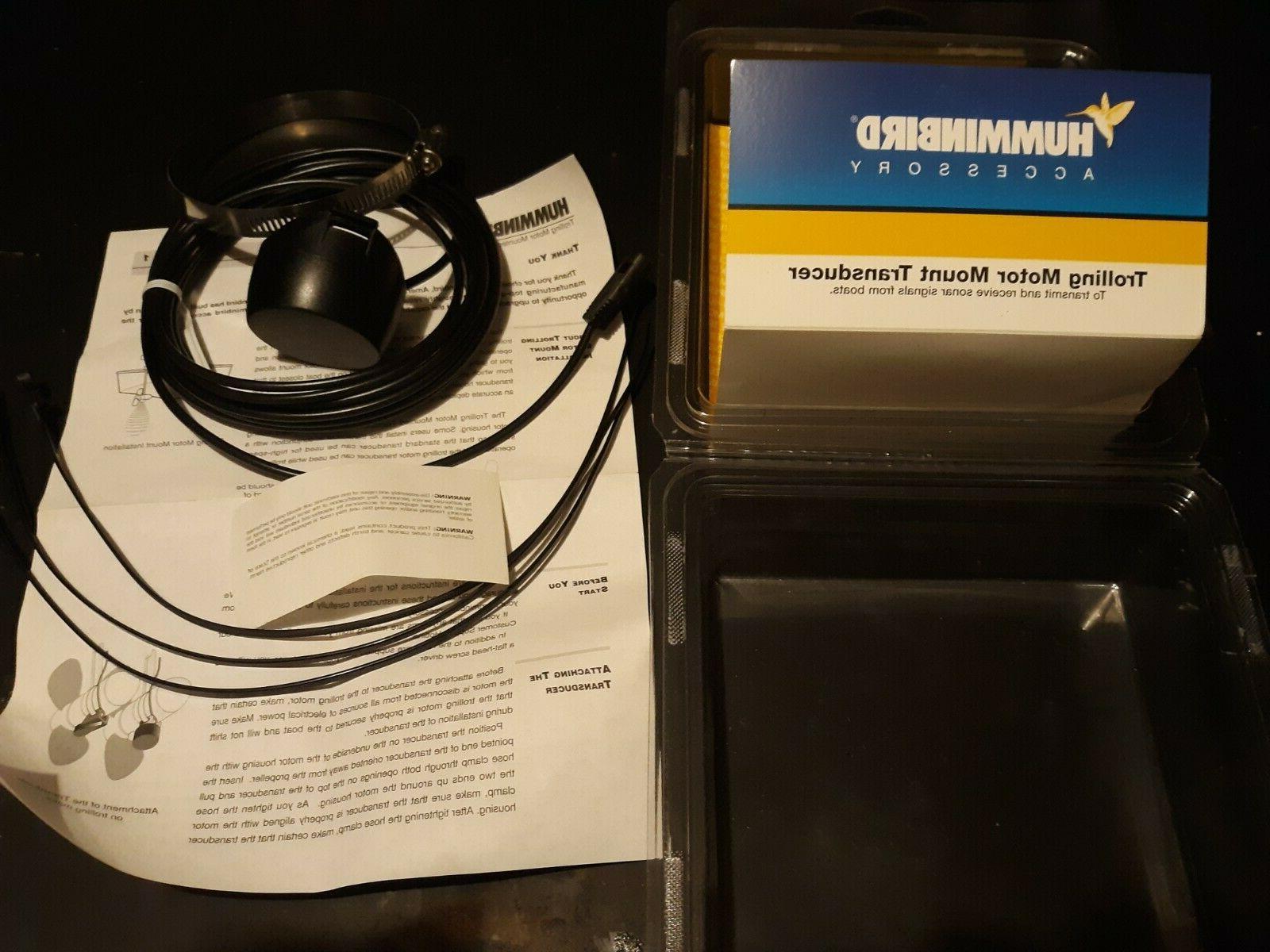 NEW Humminbird Motor Transducer