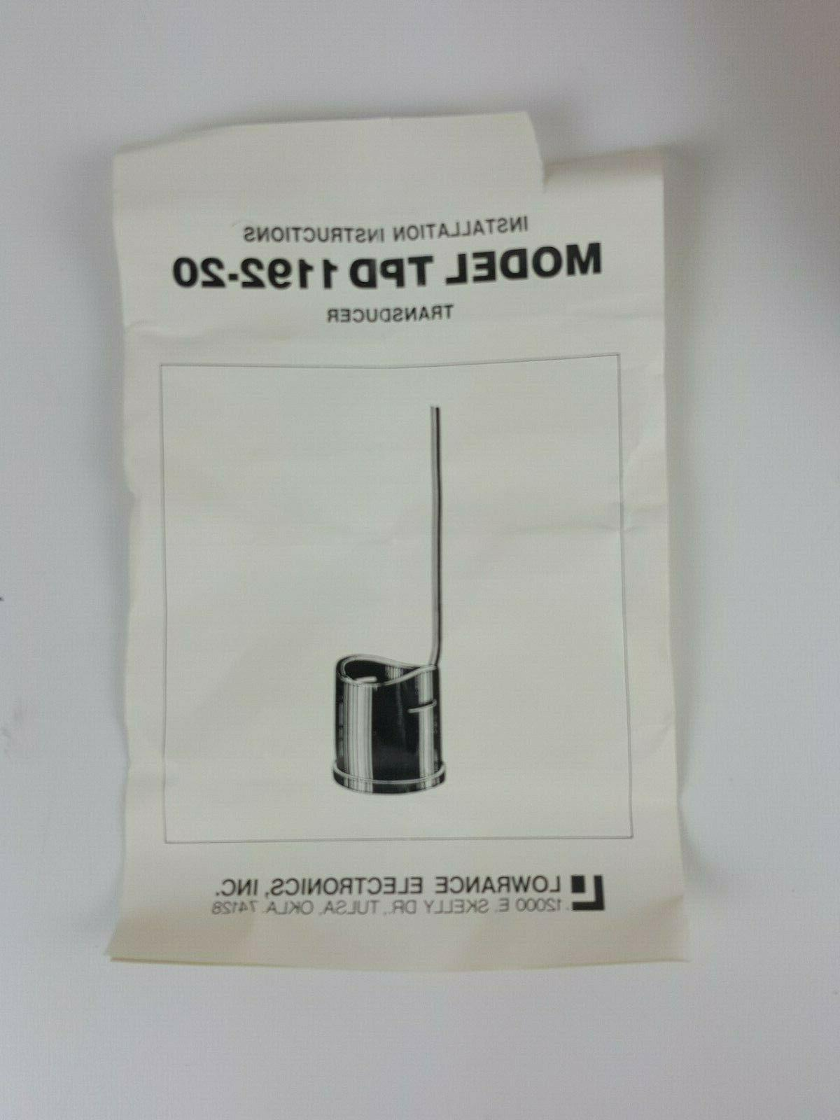 NOS TPD 1192-20 SHOOT MOTOR TRANSDUCER
