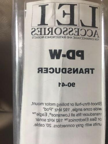 Lowrance PD-W or Shoot-T-Hull Deg