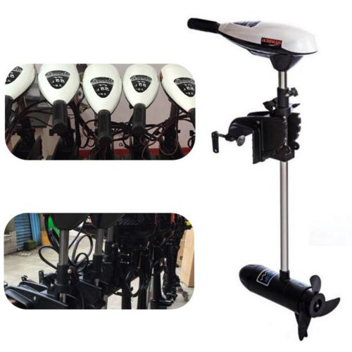 65lbs Electric Motor Outboard Inflatable Boat Trolling Motor