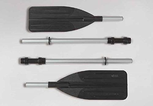 Intex 4-Person Inflatable Aluminum Oars Output Pump