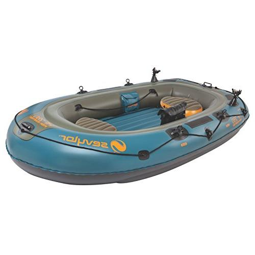 Sevylor Fish/Hunt Inflatable Boat with Berk