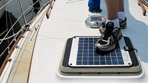 NOW Amp Solar Charger - Solar Panel - 12 Volt No Plug & Design. Dimensions L x Thick.