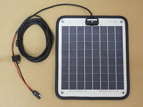 "NOW Watt Amp - Solar Charger - Boat, RV, Marine & Trolling Motor Solar 12 Volt - Plug & Play Dimensions 14.1"" L x 15.7"" 1/4"" Thick."