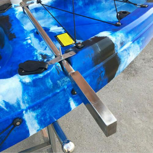 Stainless Steel Trolling Motor Mount Bar Universal for Kayak