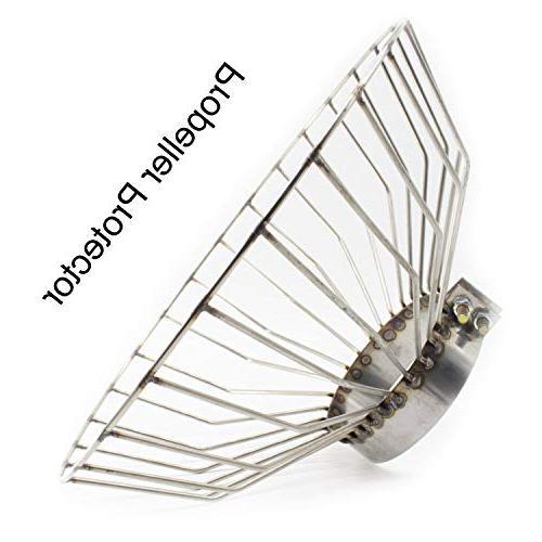trolling motor propeller protector anti