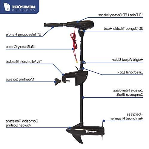 Newport Vessels X-Series Mounted Trolling with 36""