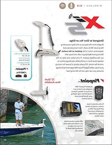 """Motorguide Xi5 Wireless Trolling Motor 60""""-12V"""