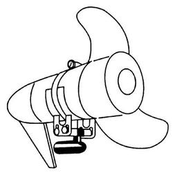 Rig Rite Manufacturing 300 Marine Trolling Motor Transducer