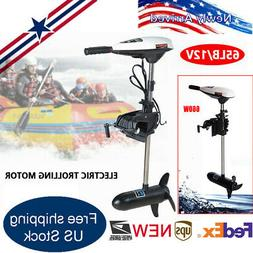 Marine 65LBS Electric Outboard Trolling Motor for Fishing Bo