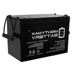 Mighty Max 12V 100Ah Battery for Minn Kota Trolling Motor Po