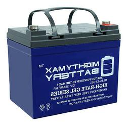Mighty Max Battery 12V 35AH Gel Battery Replacement for Pont