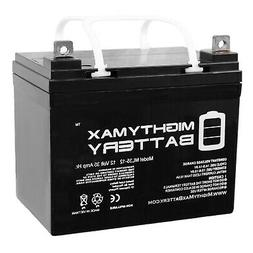 Mighty Max 12V 35AH SLA Battery for Minn Kota Endura C2 - Tr