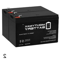 Mighty Max 12V 7.2AH SLA Battery for Electric Trolling Motor