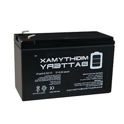 Mighty Max 12V 9AH Sealed Lead Acid Battery for Electric Tro