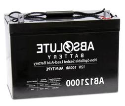 NEW 12V 100AH Battery for Minn Kota Minnkota Cobra Sevylor o