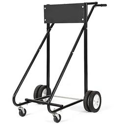 TMS 315 Lb Outboard Boat Motor Stand Carrier Cart Dolly Stor