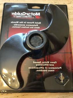 The Amazing Quality MotorGuide Safari Black 2 Blade Weedless