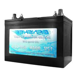 Banshee Sealed AGM Deep Cycle Marine Trolling Motor Battery