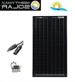 Mighty Max Battery 30 Watts Solar Panel 12V Mono Battery Cha