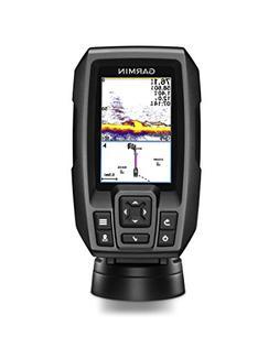 "New Garmin Striker 4cv 3.5"" Color GPS CHIRP Fishfinder w/ Tr"