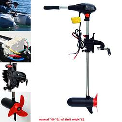 SEAMAX 55 Pound Thrust 32 Inches Shaft 12V Electric Trolling
