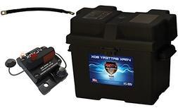 Group 24 Battery Box Boat Kit: Marine Grade Group 24 Battery