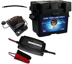 VMAXTANKS Trolling Motor Battery Box Kit: Marine Grade U1 Bo