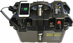Trolling Motor Smart Battery Box Power Center with USB and D