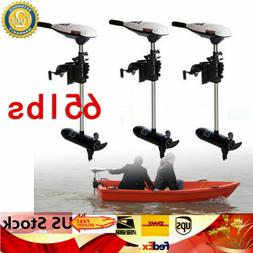 usa 65lbs boat outboard motor electric trolling