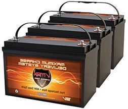 QTY3 VMAX MR137-120 12V 120AH AGM Deep Cycle Group 31 Batter