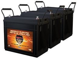 QTY3 VMAX MR147-155 12V 155AH AGM Deep Cycle Batteries for M